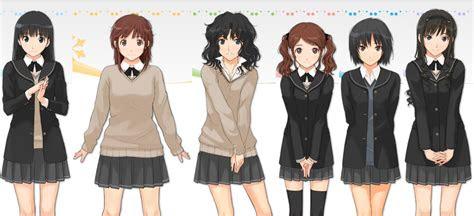school uniforms anime
