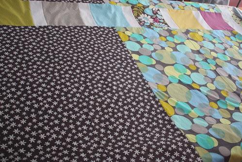 Backing for Central Park quilt