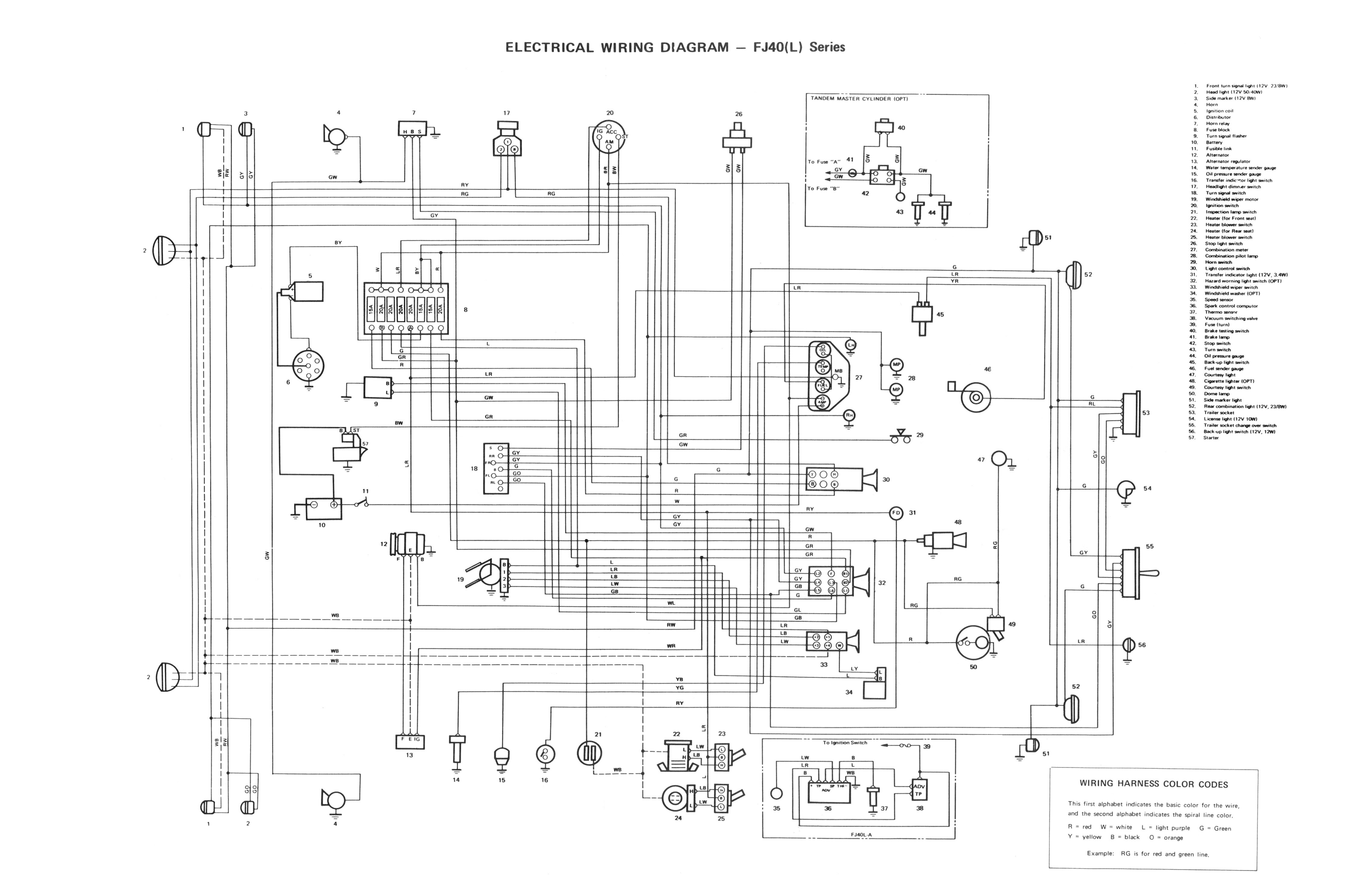 Fj40 Wiper Motor Wiring Diagram   Wiring Diagrams Simple