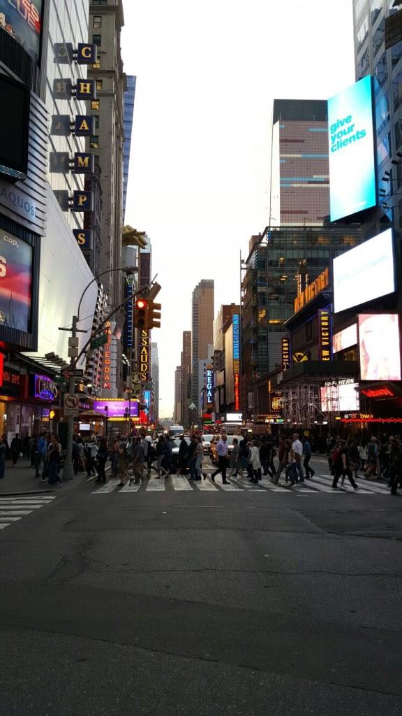 New York une ville trépidante