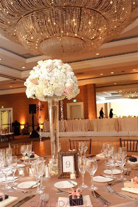 My Wedding Coral, Ivory and Champagne   Decor ideas