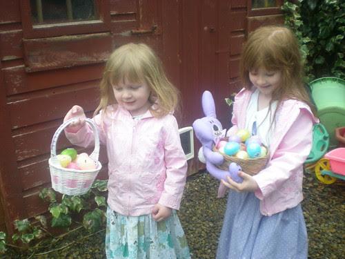 Easter Morning Egg Hunt