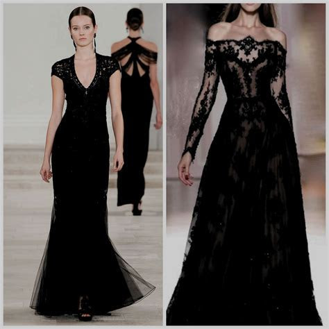 Black Tie event dress guide for women source: http://www
