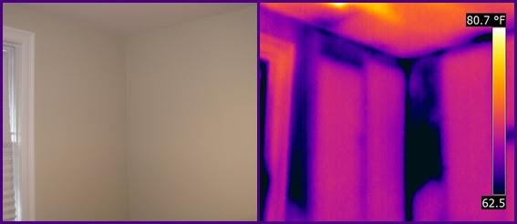 wall insulation voids