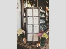 Relaxed And Stylish Cape Cod Wedding   Escort Cards & Place Cards   Wedding table seating