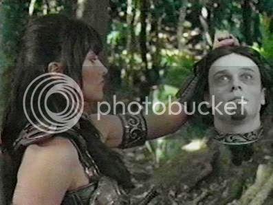 Xena with Orpheus