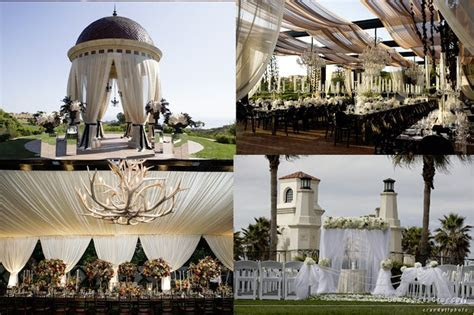 Event Design: Drapery Creates Wedding Drama   Wedding