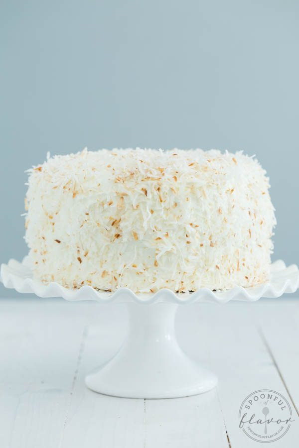 Chocolate-Cake-with-Coconut-Cream-and-Marshmallow-Buttercream-Frosting