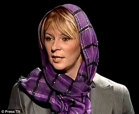 Convert: Lauren Booth, who is Cherie Blair¿s half sister, decided to convert to Islam after what she described as a holy experience in Iran