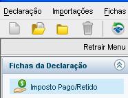 IRPF - Imposto Pago/Retido