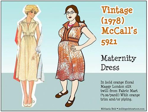 Vintage McCalls 5921 Sketch