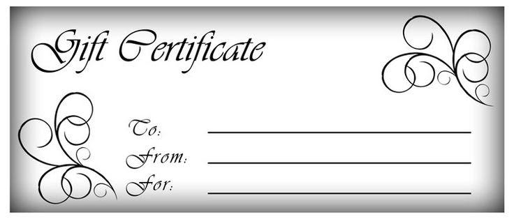 PDF-Make Gift Certificates with Printable