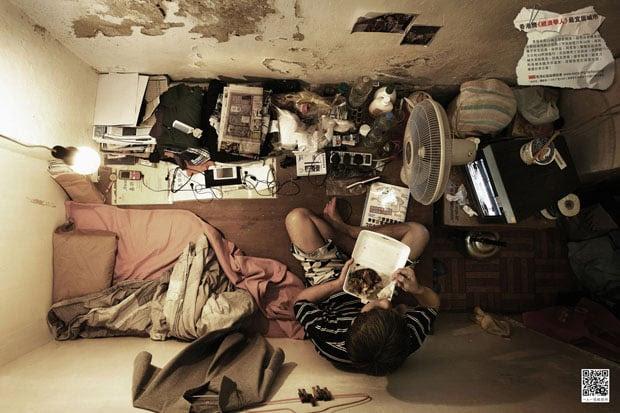Cramped Apartments in Hong Kong Shot From Directly Above hongkongabove 1