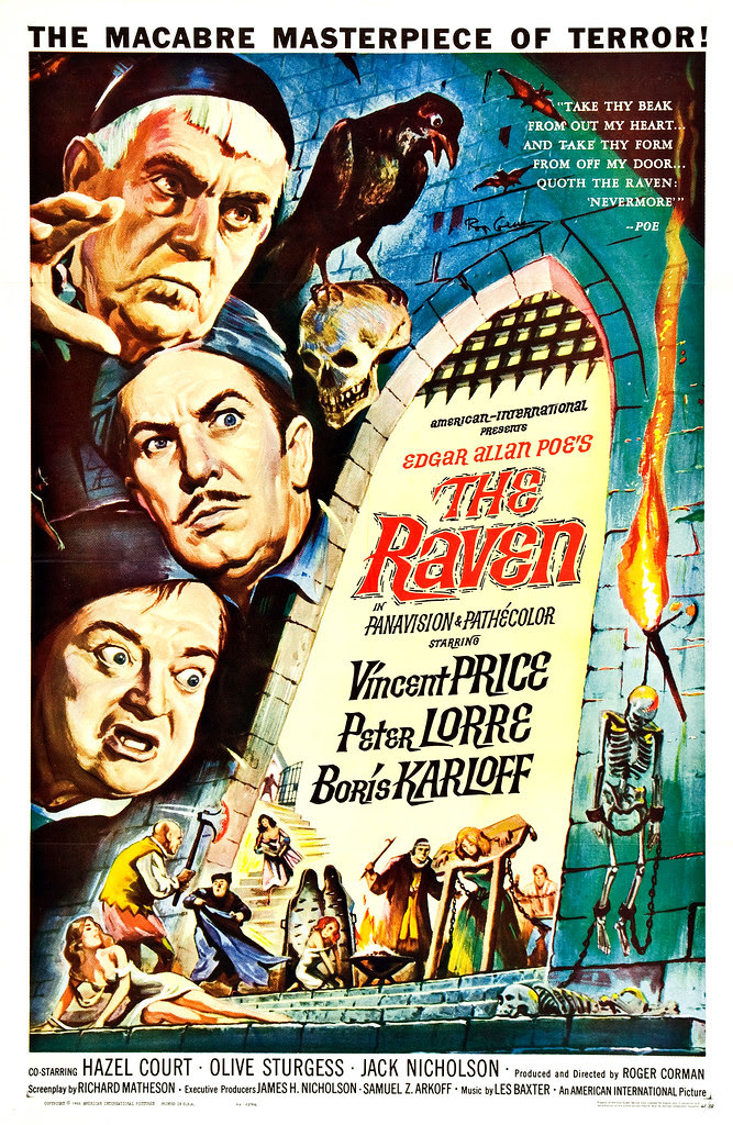 Reynold Brown - The Raven (American International, 1963)