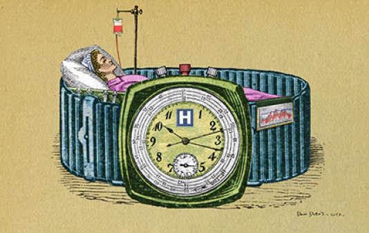 «Le personnel hospitalier a pris de plein fouet la vague de réformes qui submerge les établissements publics depuis le début des années 2000. Tout le monde est à bout.»