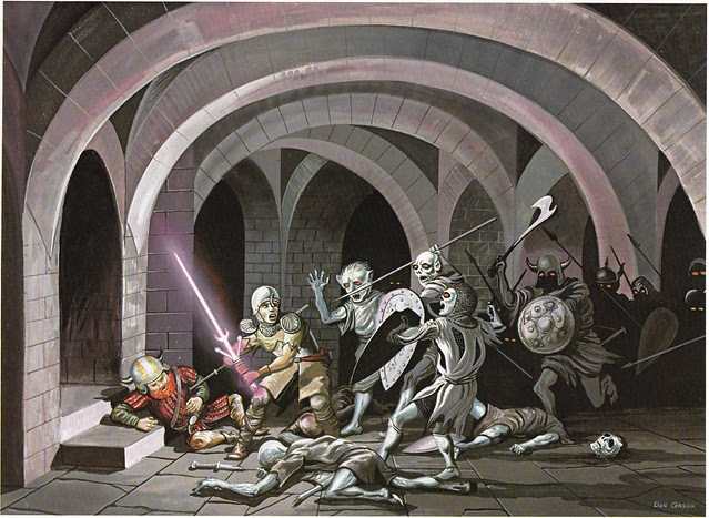 Down In The Dungeon - Don Greer, Rob Stern (Squadron-Signal_1981)-Attack Of The Undead
