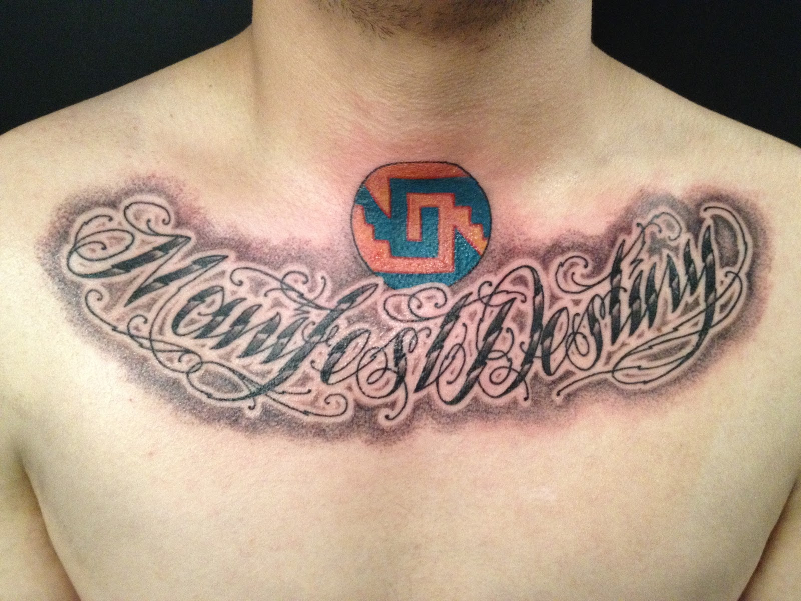 In God We Trust Chest Tattoo Creativehobbystore