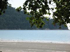 Walk on the Beach of Pangkor Island Beach Resort, Perak by Loeffle