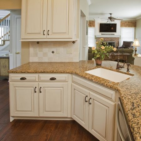 Antique English Kitchen Cabinet Refacing - Eclectic ...