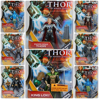 Thor 3.75-inch collage