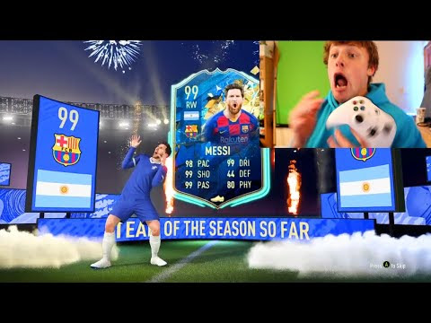 99 MESSI!! LA LIGA TOTS PACK OPENING - FIFA 20