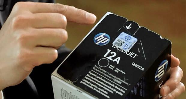 Fique atento ao selo de qualidade de cartuchos e toneres (Foto: Reprodução / HP)