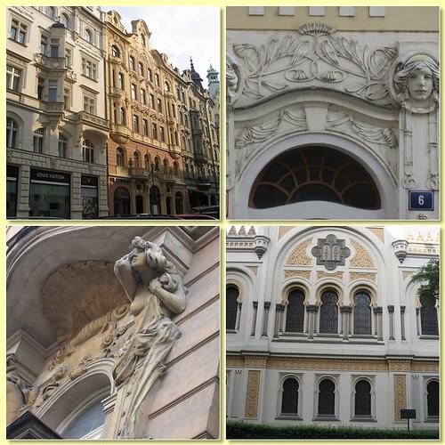 Barrio Josefov en Praga