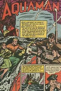 More Fun #73 Aquaman Splash Page
