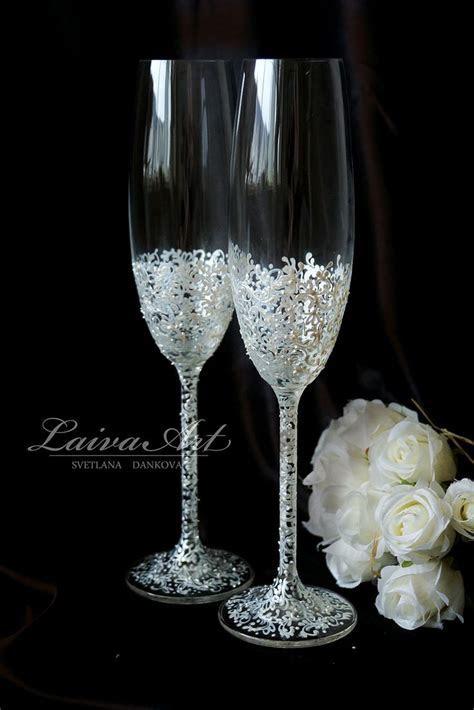 282 best Wedding Champagne Flutes images on Pinterest