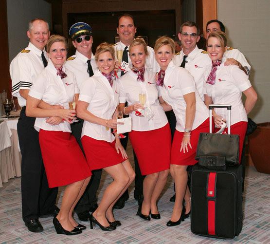 Virgin Atlantic employees