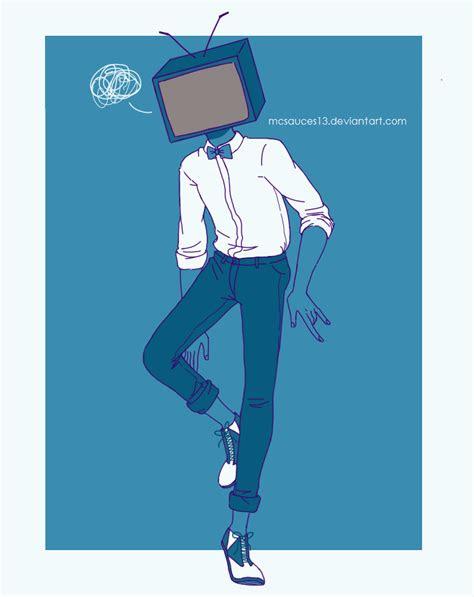 ummsorry im late guys hipster tv head heads tv