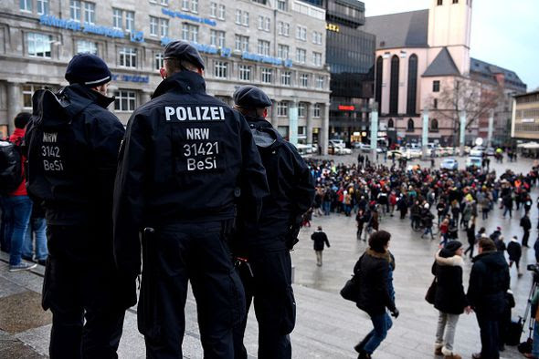 A mass sex attack caused panic in Cologne last New Year