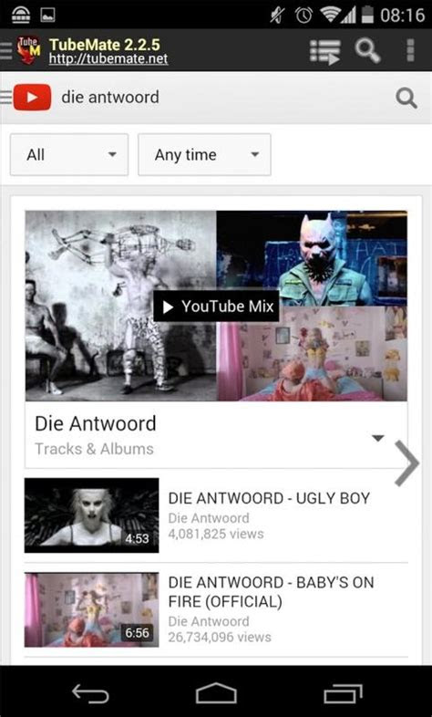 tubemate youtube downloader  android apk