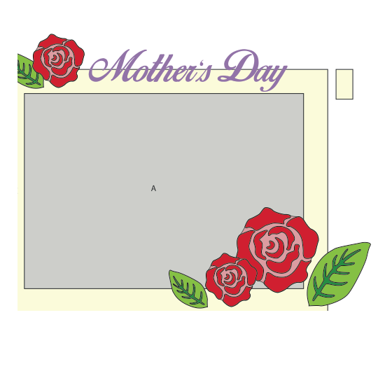 Mothers Day Frame With Rose Cover The 3doodler Edu