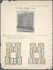 Two model tenement houses. 504... Digital ID: 465718. New York Public Library