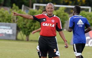 Jayme de Almeida treino Flamengo (Foto: Alexandre Vidal/Fla Imagem)