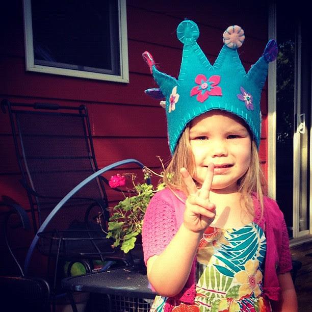 Princess P - for peace!