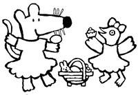 Coloriages En Ligne Pâques Bonjour Les Enfants