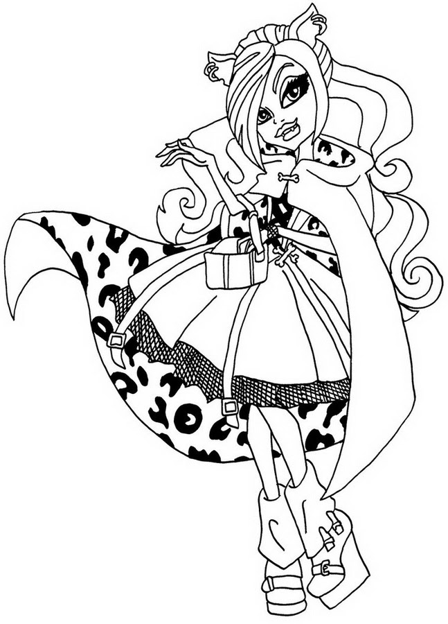 Coloriage Monster High A Imprimer Az Coloriage