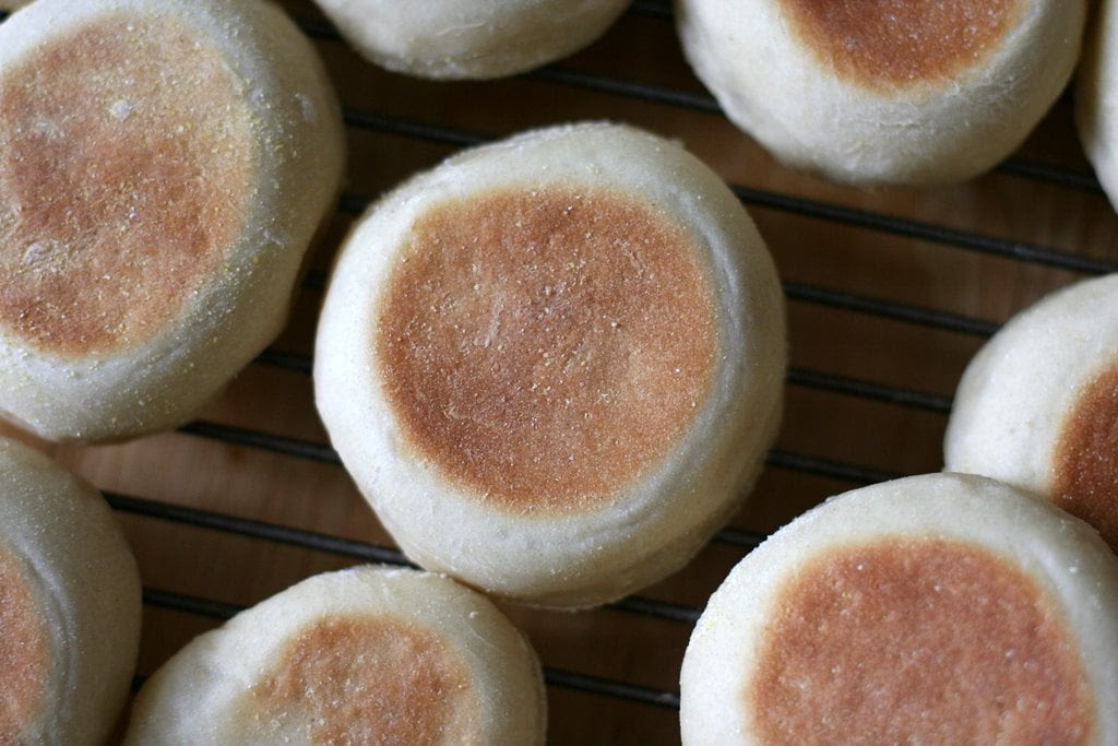 Wednesday Baking  Homemade English Muffins  The Frugal Girl