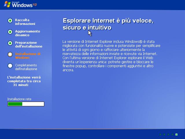 [Windows xp installazione con kvm]