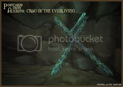 Postcards of Azeroth: Crag of the Everliving, by Rioriel Ail'thera
