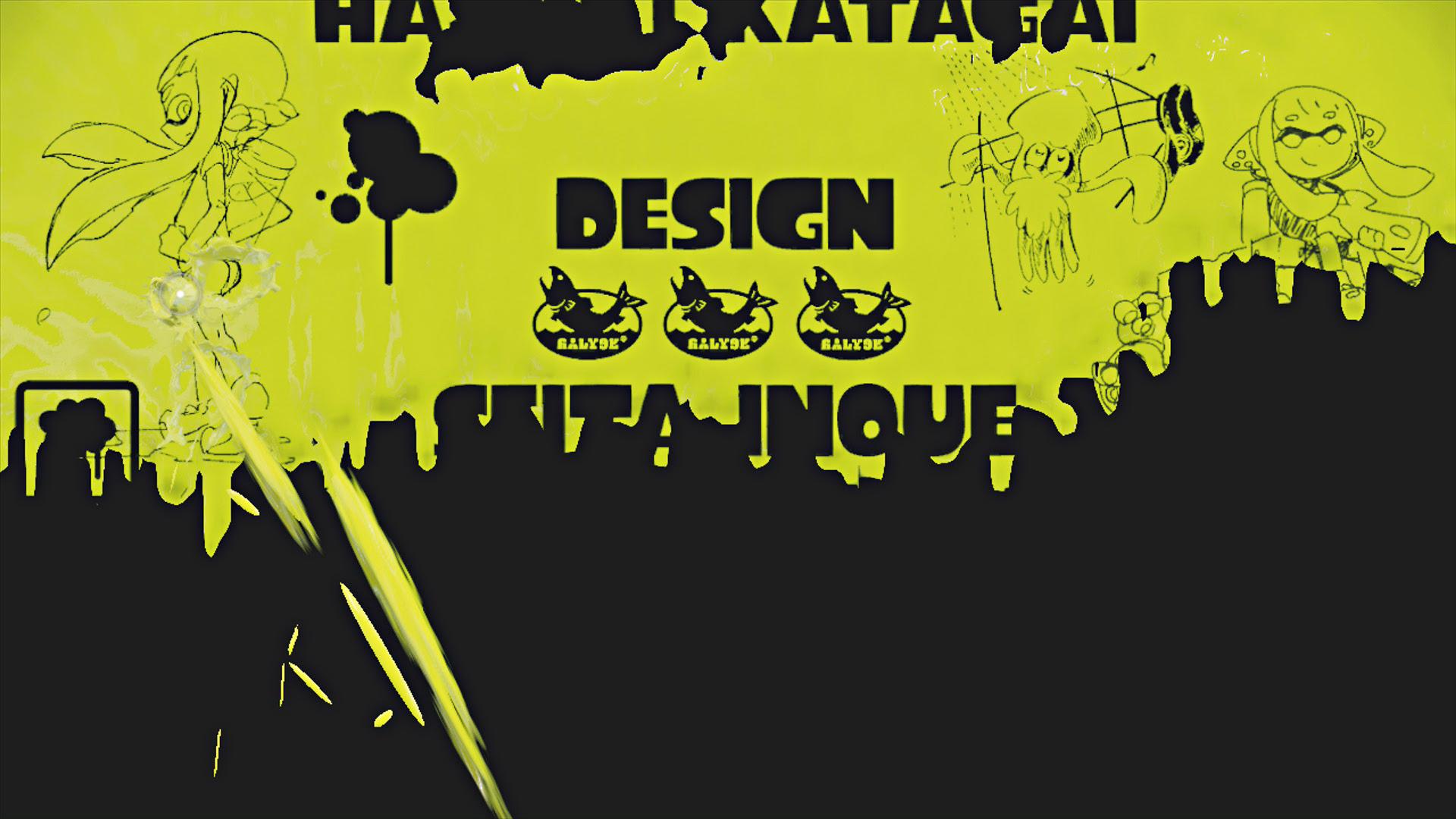 Splatoon スプラトゥーン 色塗り日記06 Les Aventuriers
