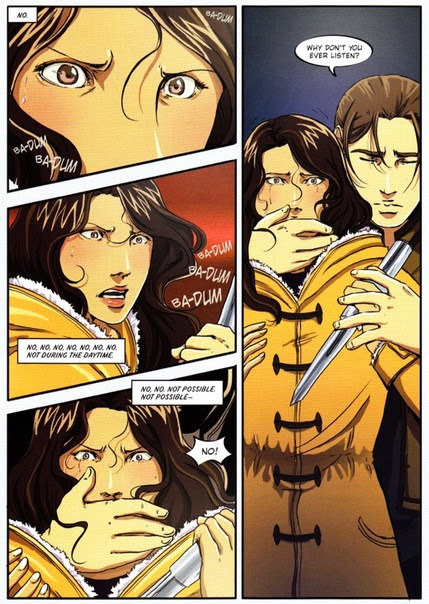 Vampire Academy Graphic Novel - vampire-academy photo