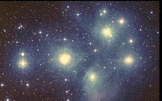Las Pléyades (Cúmulo M45)