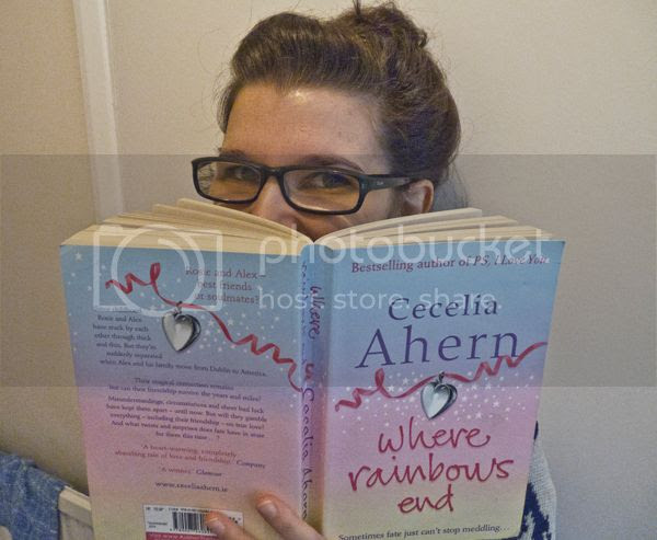 Where Rainbows End by Cecelia Ahern book review on Blogger's Bookshelf.