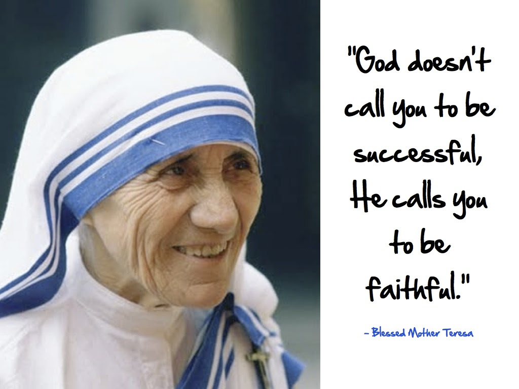 Saint Mother Teresa Missionary Of Mercy Saturday 3 September 2016
