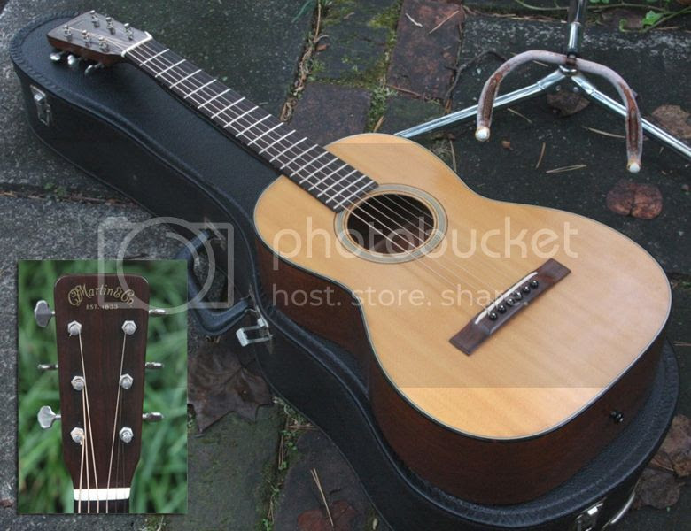Guitar Blog: Martin 5-16 Terz Guitar - vintage short-scale acoustic