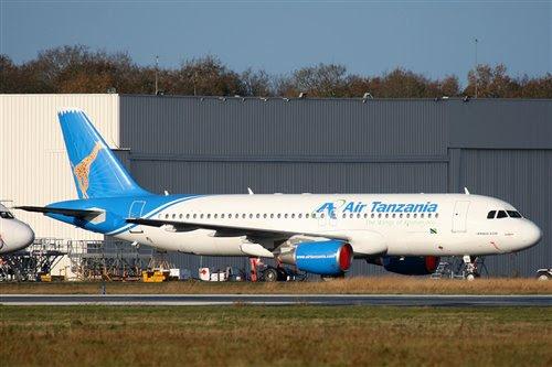 Air Tanzania's China Sonangol