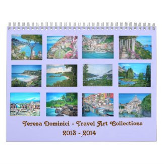 Travel Art Collections 2013-2014 Calendar